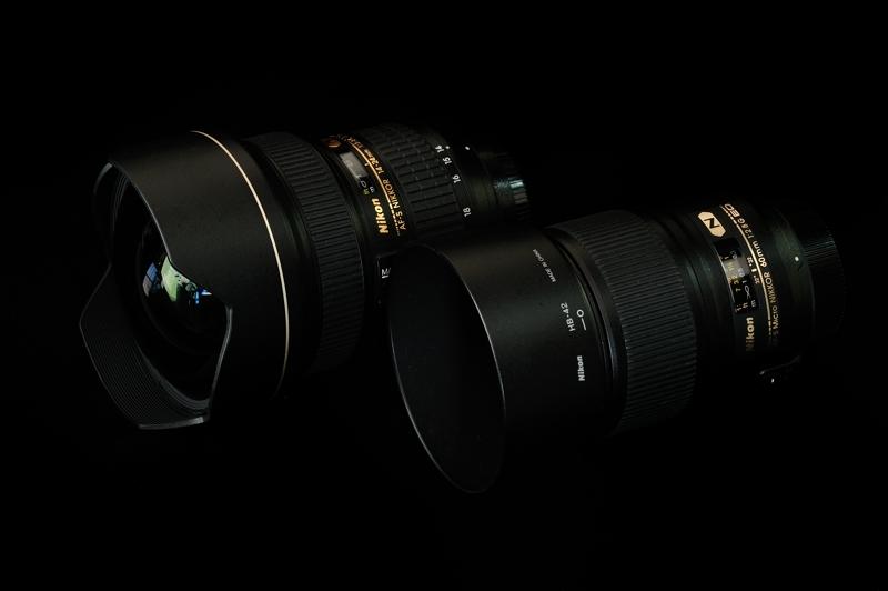14-24mm F2.8G & Micro 60mm F2.8G