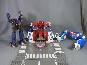 TFGo! G26 オートボット総司令官オプティマスエクスプライム 連結参乗合体004