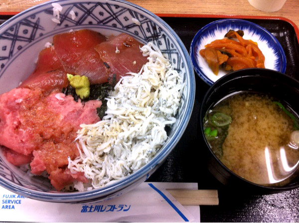 駿河の三色丼