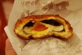 半熟玉子のカレーパン