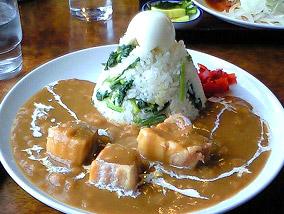 御殿場市の名産-富士山水菜カレー
