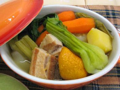 名物グルメ-丹波産野菜のあったかポトフ