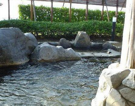 徳光PAの温泉・シャワー施設