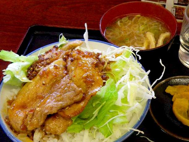 名物グルメ-ラー油丼