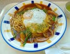 名物グルメ-あんかけスパゲティ