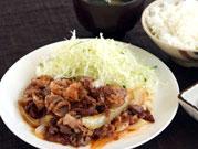 名物グルメ-近江牛焼肉定食