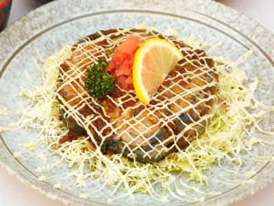名物グルメ-三崎まぐろ尾の身ステーキ