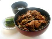 信州地鶏丼