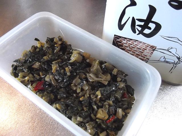 菜っ葉の炒め煮