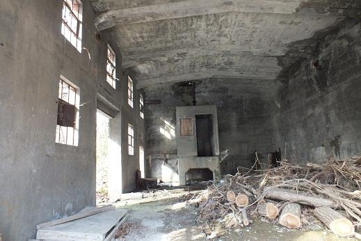 万字炭鉱 廃屋2