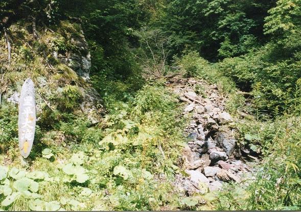 里平大滝へ
