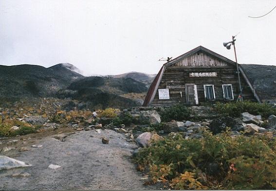 十勝岳 小屋