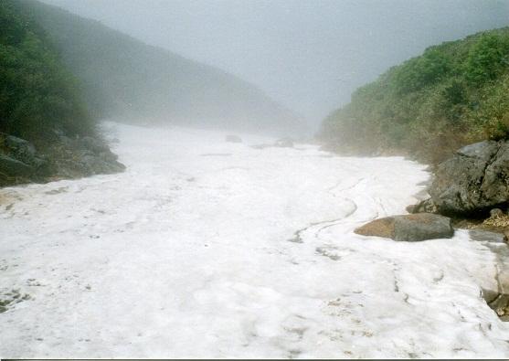 富良野岳 滝1