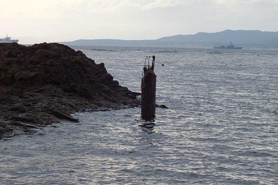 寒川集落 灯台