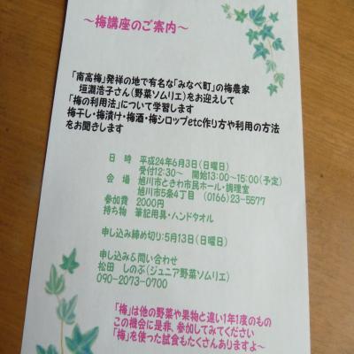 2012.5.11梅講座・お知らせ