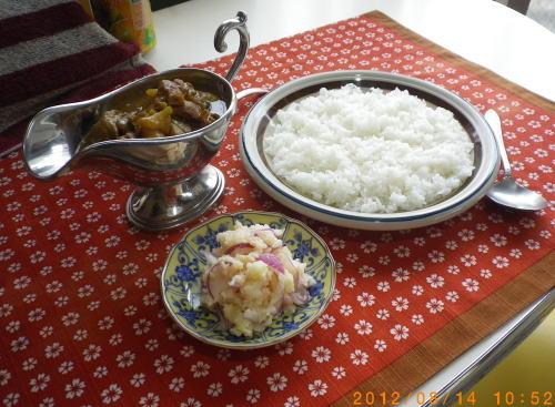 2012.8 チキンカレー