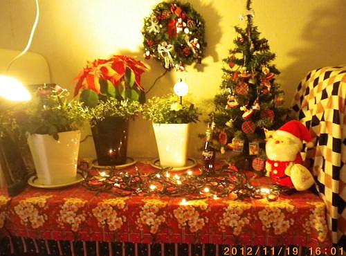 2012.11 クリスマスツリー②