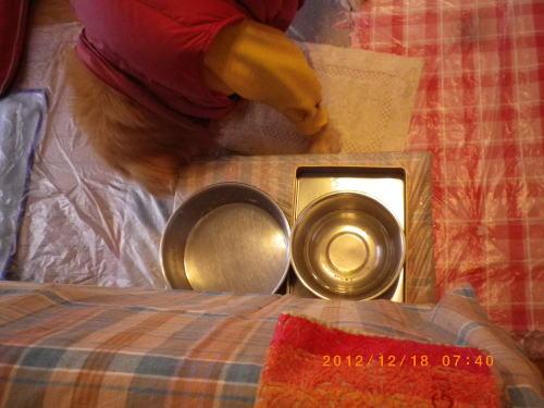 2012年12月18日 食事終了①