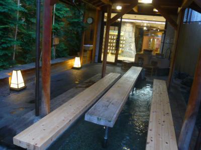 道後温泉の足湯巡り7
