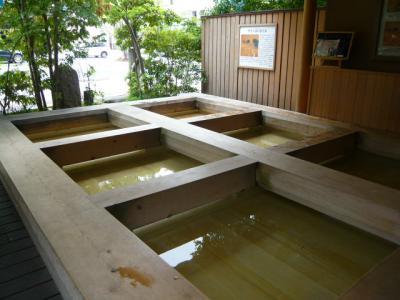 道後温泉の足湯巡り21