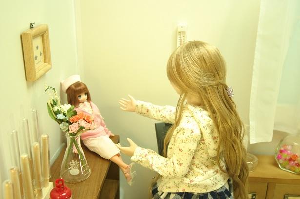 お人形へ2