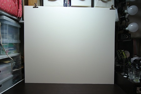 エントランス白壁