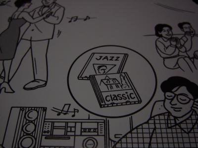 ジャズとクラシック 絵カード