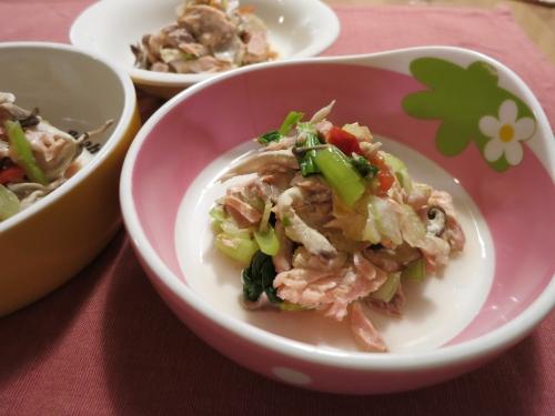 夜ご飯 生鮭のオーブン焼き