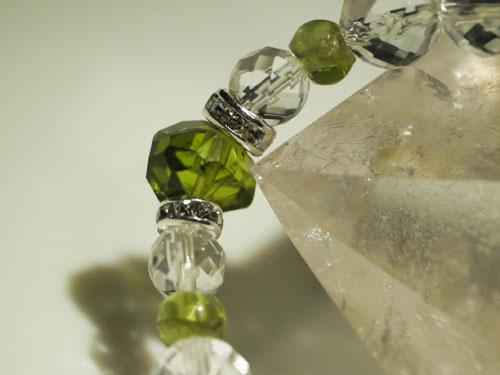 宝石質ペリドットタンブル画像4