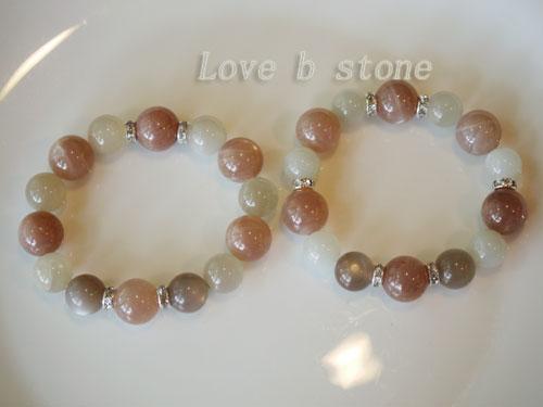 オレンジムーンストーン2種画像3