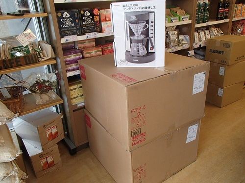 ハリオコーヒーメーカー販売開始