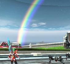 ダガンと虹