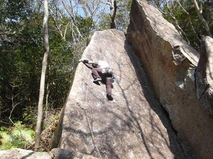 瑞浪の岩場2014,1.4 002