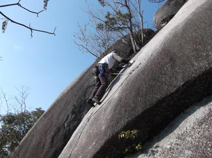 瑞浪の岩場2014,1.4 007