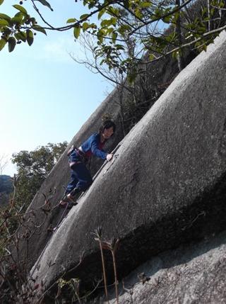 瑞浪の岩場2014,1.4 009