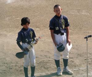 2012春季リーグ表彰式