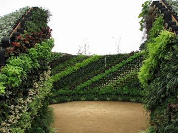 緑化フェア会場