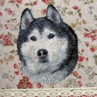 トリュフ刺繍