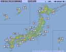 七夕の天気図