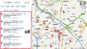 20120505 博多駅周辺コンビニリストUP加工赤枠