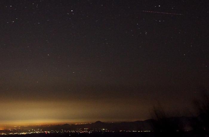 2014年10月31日のいわかがみ平からの南の空2