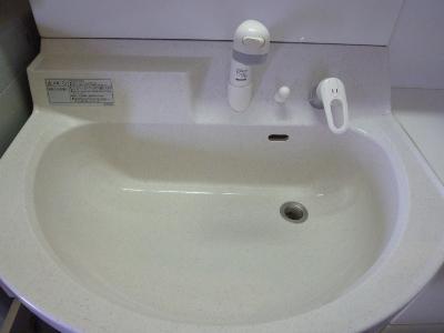 洗面台アフター小