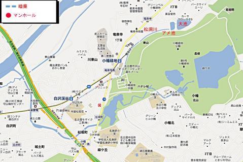 松洞川地図
