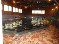温泉風呂場