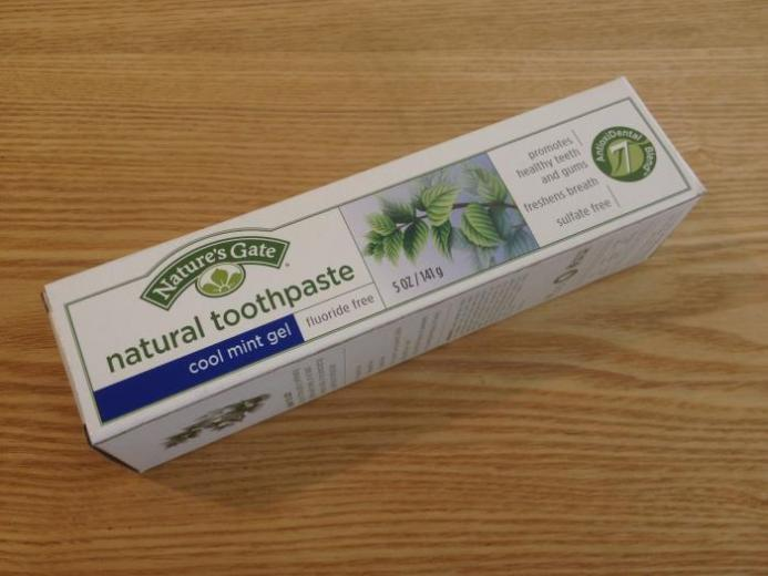 Nature's Gate, Natural Toothpaste, Cool Mint Gel, Fluoride Free, 5 oz (141 g) _1