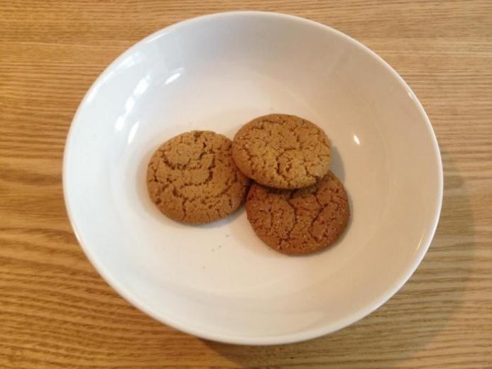 Mi-Del Cookies, Swedish Style Ginger Snaps, 10 oz (284 g)_1