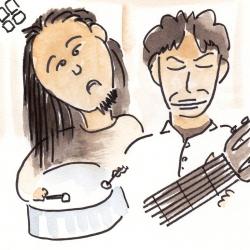 スティールパン&7弦ギター