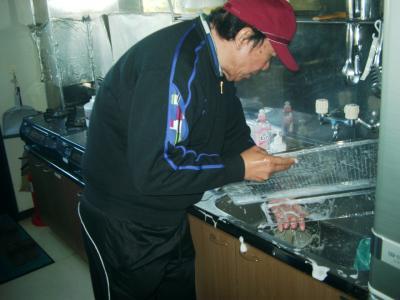 冷蔵庫掃除2