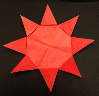 ハート 折り紙 折り紙 太陽 折り方 : inaorigami.blog.fc2.com
