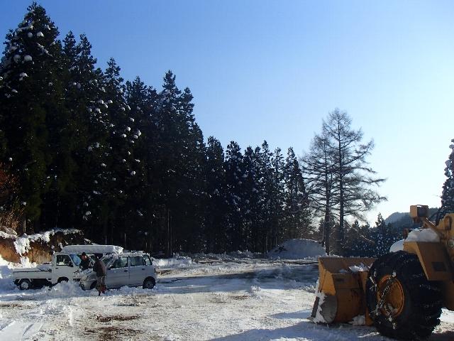 初積雪50cm